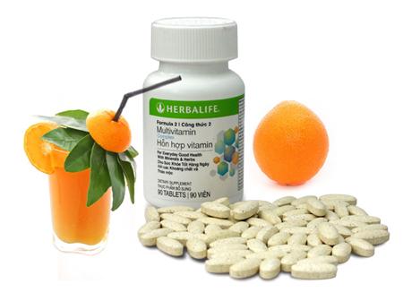 Công bố chất lượng nguyên liệu thực phẩm hỗn hợp vitamin